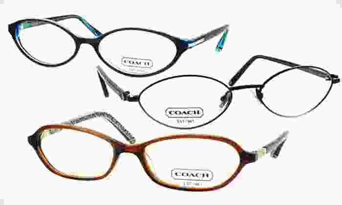 Women's Coach Eyeglass Frames: $57.99 for One Pair of Women's Coach Optical-Quality Eyeglass Frames (Up to $288 List Price). Nine Options Available.