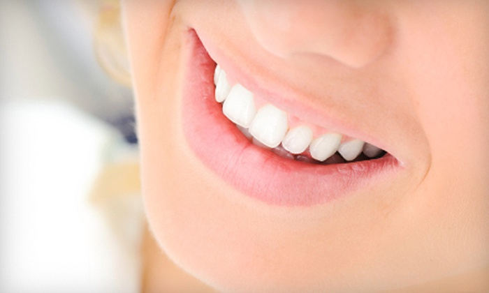 Gabucan Family Dentistry - Multiple Locations: Dental-Cleaning Package, Teeth Whitening, or Both at Gabucan Family Dentistry (Up to 91% Off). Two Locations Available.