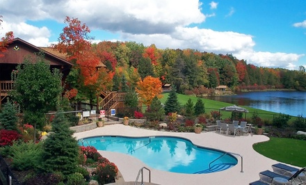 groupon daily deal - 1-Week Weight-Loss Program for One or Two with Meals and Training at The Biggest Loser Resort Niagara in Java Center, NY