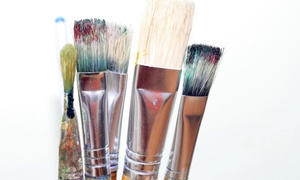 Big World Little Girl Art: $193 for $350 Wine & Design Painting Workshop for Adults — Bigworldlittlegirlart