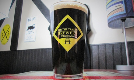 Beer Tasting for Two or Four People at On The Tracks Brewery (Up to 50% Off)