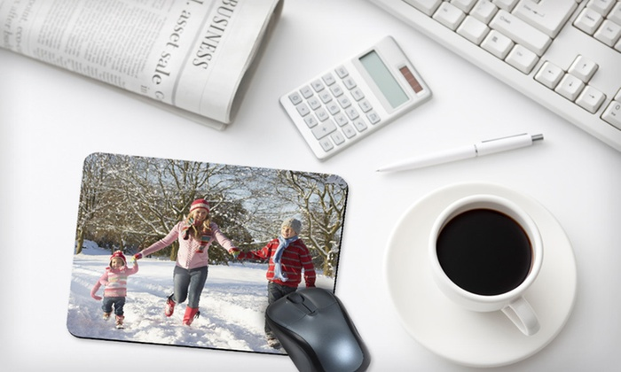 Two Custom Photo Mousepads: $15 for Two Custom Photo Mousepads from SmileBooks ($25.98 List Price). Free Shipping.
