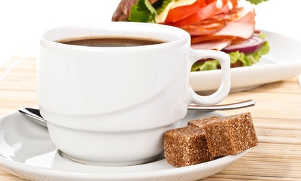 Breakfast For Two (£5) or Four (£9.50) at Coffee To Go (Up to 56% Off)