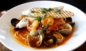 Puccini & Pinetti: Italian Brunch, Lunch, or Dinner for Two or Four at Puccini & Pinetti (Up to 52% Off)
