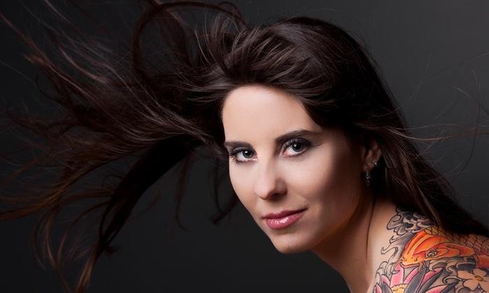 Aneeka @ Bellazza Salon - Aneeka @ Bellazza Salon: Up to 56% Off Haircuts & Color at Aneeka @ Bellazza Salon