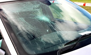 Spider Auto Glass: Repair for 1 Windshield Chip or $35 for $100 Toward Auto-Glass Repair Deductible at Spider Auto Glass
