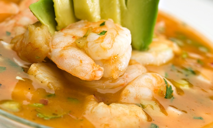Mariscos Tampico - North Lamar: Mexican Seafood and Drinks at Mariscos Tampico (Half Off). Two Options Available.