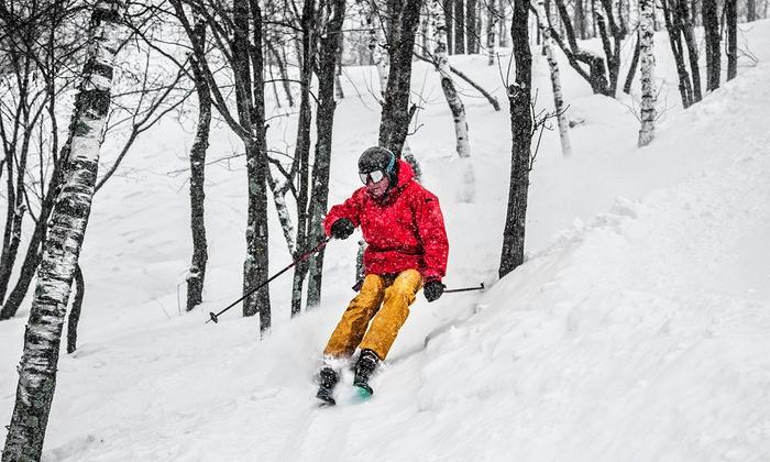 Granite Peak - Wausau: Two-Day Lift Ticket with Optional Ski or Snowboard Rental at Granite Peak (Up to 44% Off)