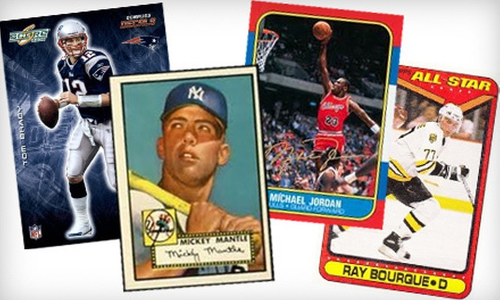 Legends Clearing House - Downtown Providence: $59 for 2,500–3,000 Vintage Sports Cards with Shipping from Legends Clearing House ($1,219.99 Value)