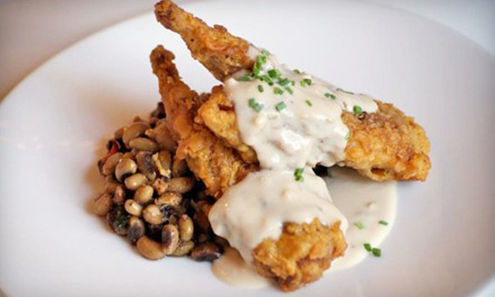 Hudson's on the Bend - West Austin: Three-Course Tasting Menu for Two, Four, or Six at Hudson's on the Bend (Half Off)