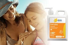 2x 1L Cancer Council Sunscreen