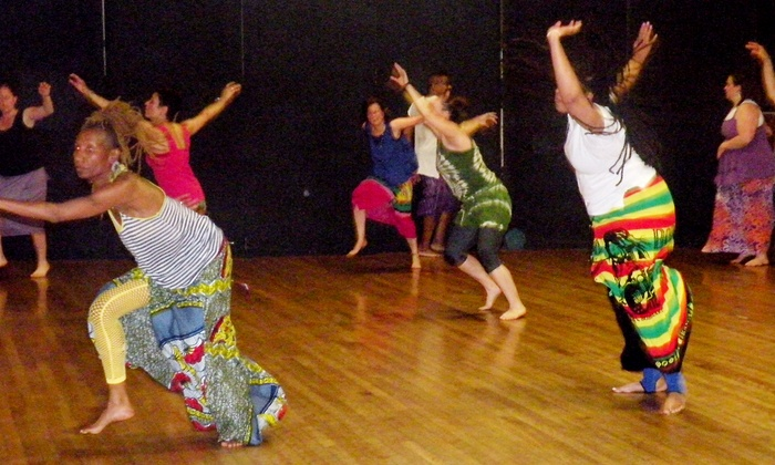 One World Arts Exchange - Spring St. Center: Two or Four African Dance Classes at One World Arts Exchange (Up to 58% Off)