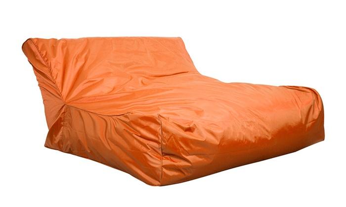 Astounding Giant Indoor Outdoor Bean Bag Groupon Goods Uwap Interior Chair Design Uwaporg