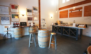 àMaurice Cellars: Wine Tasting for Two or Four with Commemorative Glasses at àMaurice Cellars (Up to 56% Off)