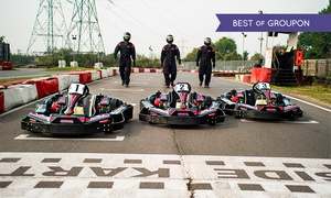 Lakeside and Brentwood Karting: Up to 20 Minutes of Karting for One or Two at Lakeside and Brentwood Karting, Two Locations (50% Off)