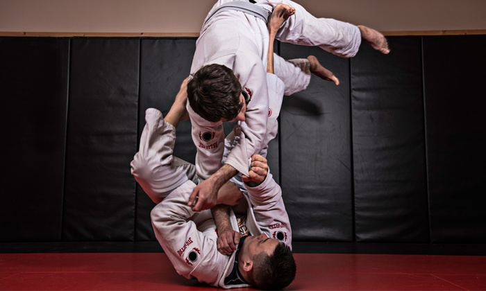 The Jiujitsu League - The Jiujitsu League: 10 or 20 Brazilian Jiu-Jitsu Classes or 5 One-on-One Classes at The Jiujitsu League (Up to 85% Off)