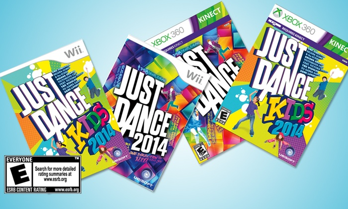 Just Dance 2014 and Just Dance Kids 2014 Bundle: Just Dance 2014 and Just Dance Kids 2014 Bundlefor Wii U, Xbox 360, or Wii. Free Shipping and Returns.