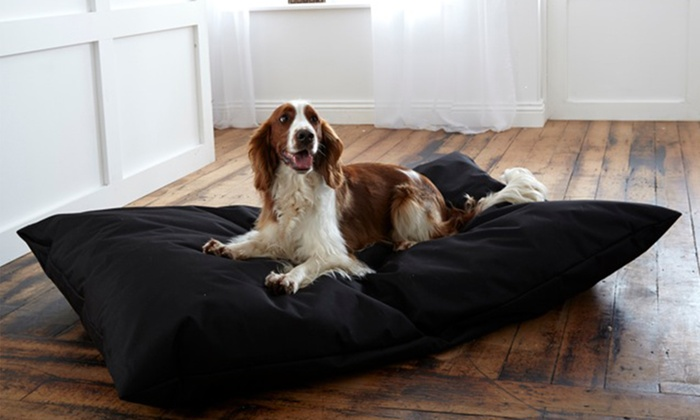Waterproof Dog Bed with Removable Washable Zip Cover for £10