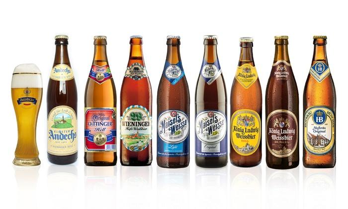 German Wheat Beers Plus Glass