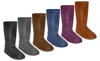 GROUPON: DAWGS Women's Tall Microfiber Boots DAWGS Women's Tall Microfiber Boots