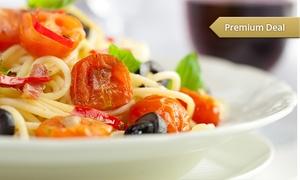 Teatro Piu Theatropiu: Italienisches 3-Gänge-Menü mit Pizza oder Pasta für Zwei oder Vier im Teatro Più ab 29,90 € (bis zu 56% sparen*)