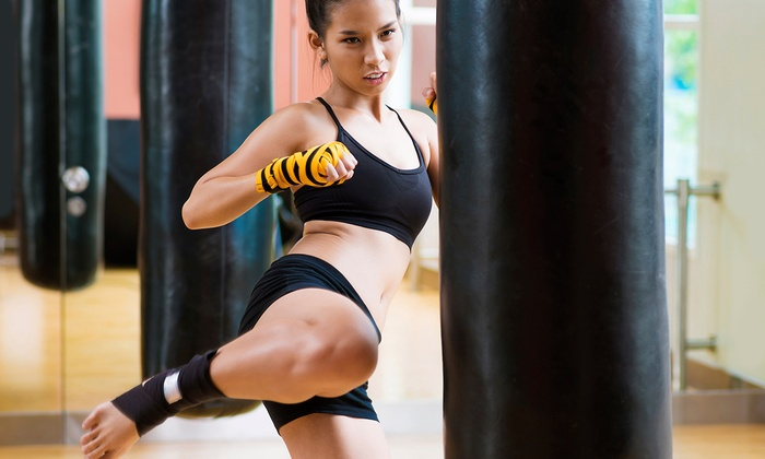 Premier Martial Arts - Scottsdale: One-Month Martial Arts or Kickboxing Program with Uniform for One or Two at Premier Martial Arts (Up to 68% Off)
