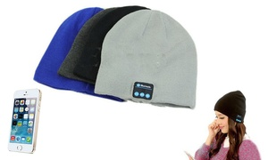 LED or Bluetooth Beanie with Built-In Wireless Headphones