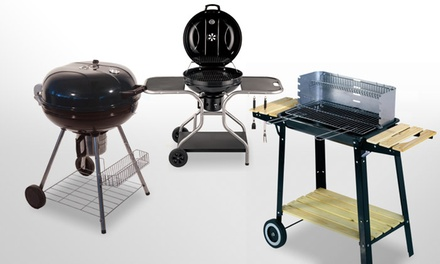 barbecue bois ou charbon groupon shopping. Black Bedroom Furniture Sets. Home Design Ideas