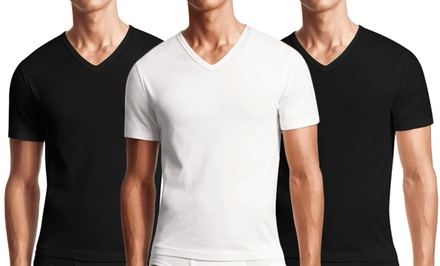 3-Pack of Dinamit Men's V-Neck Shirts