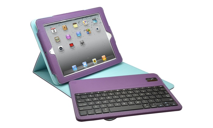 Aduro iPad Case with Bluetooth Keyboard: $36.99 for an Aduro iPad Case and Bluetooth Keyboard ($79.99 List Price). Multiple Colors. Free Shipping and Returns.