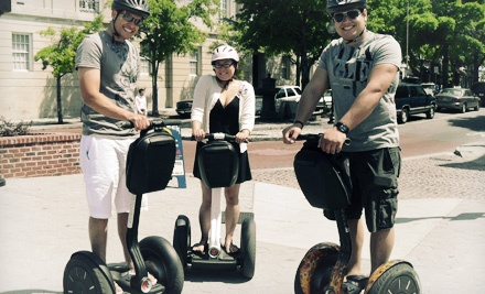 Historic Segway Tour in San Antonio, Austin, or Dallas from Segway Nation (Up to 46% Off)