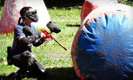 All-Day Paintball Package for Two, Four, or Six with Rental Gear and Paintballs at Action Park Paintball (Up to 60% Off)