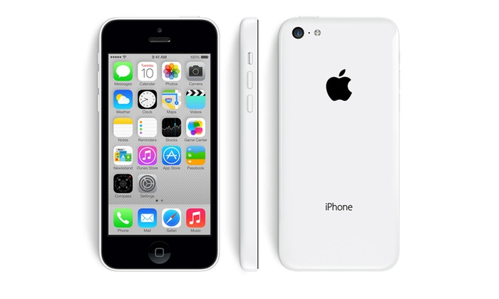 apple iphone 5c reconditionn groupon shopping. Black Bedroom Furniture Sets. Home Design Ideas