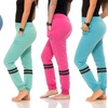 Women's Stripe Design Active Sweatpants