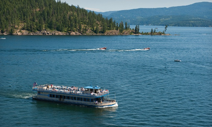 Lake Coeur d'Alene Cruises - Coeur d'Alene: $22.75 for a Scenic Lake Cruise for Two from Lake Coeur d'Alene Cruises ($45.50 Value)