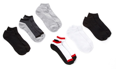12-Pairs of Everlast Men's Half-Cushion No-Show Socks