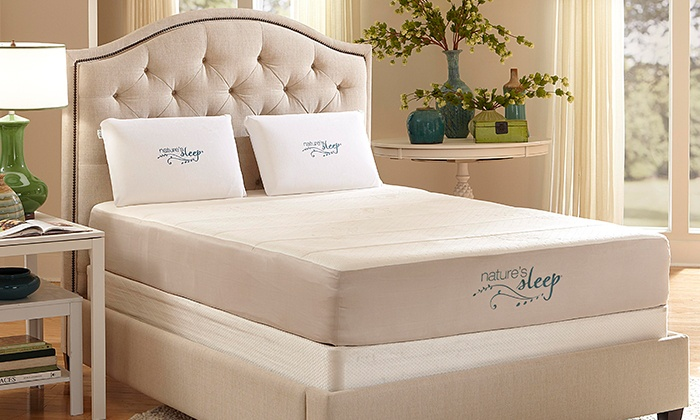 Nature's Sleep: Memory-Foam Mattresses with Shipping Included from Nature's Sleep (Up to 75% Off). Four Options Available.