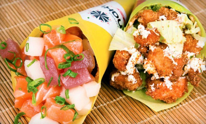 Makis Place - Northeast Coconut Grove: Sushi for Two or Four at Makis Place (Up to 53% Off)