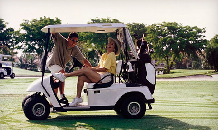 Carey Park Golf Course - Hutchinson: 18-Hole Golf Outing with Cart and Range Balls for Two or Four at Carey Park Golf Course in Hutchinson (Up to 51% Off)