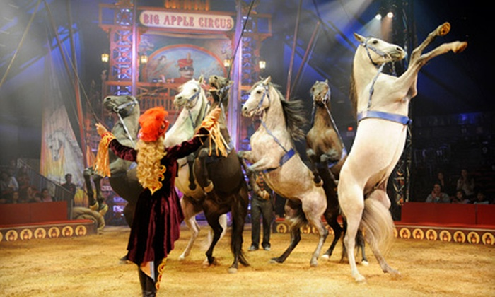 "Big Apple Circus - Dulles Town Center: $20 to See Opening Night of Big Apple Circus's ""Luminocity"" at Dulles Town Center on Sept. 26 at 7 p.m. (Up to 74% Off)"