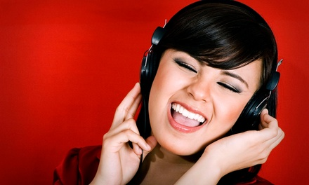 $21 for Two 2-Hour Vocal Performance Lessons at Forte Vocal Performance Academy ($60 Value)