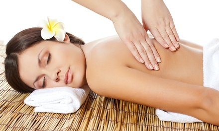 Spa Package for One or Two with One-Hour Massage, Facial, and Body Polish at World Therapy Center (Up to 57% Off)