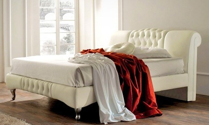 Groupon Goods Global GmbH: Knightsbridge Designer Bed Frame £189; With Mattress £289 With Free Delivery (Up to 53% Off)