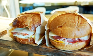 Rocco's Deli: Italian Deli Food, Groceries, or Oatmeal Bars at Rocco's Deli (Up to 51% Off). Four Options Available.