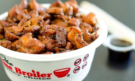 Healthy Quick-Service Korean Food at The Flame Broiler (Up to 40% Off). Two Options Available.