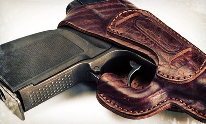 Liberty Firearms Instruction - Seven Corners: Concealed-Handgun-Permit Class for One or Two at Liberty Firearms Instruction (Up to 57% Off)
