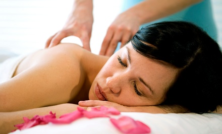 $49 for a 90-Minute Massage with Cake Truffle and Champagne at Dos Manos Massage Studio ($120 Value)