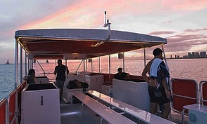 Hawaii Glass Bottom Boat Adventures: Daytime or Sunset Guided Sightseeing Boat Trip from Hawaii Glass Bottom Boat Adventures (Up to 36% Off)