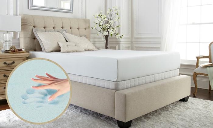 Purasleep Xcel Pure Foam Premium Gel Memory Foam Mattress Deal Of The Day