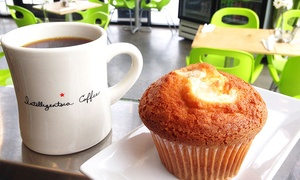 $12 For Two Groupons, Each Good For $10 Worth Of Coffee And Food At The Leisure Club ($20 Value)